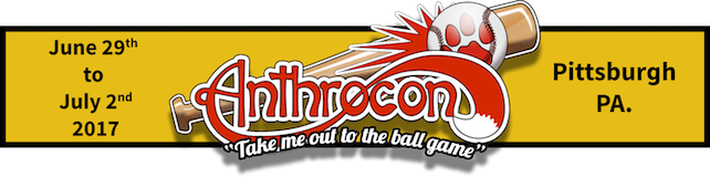 Anthrocon (Pittsburgh, PA) June 29 - July 2, 2017